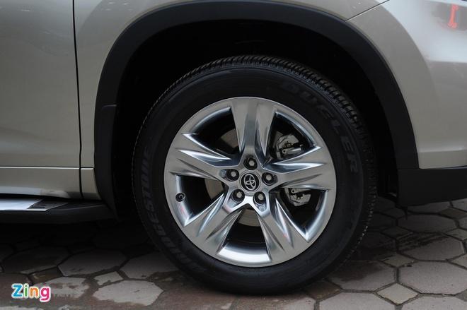 Chi tiet Toyota Highlander 2016 Limited tai Ha Noi hinh anh 7