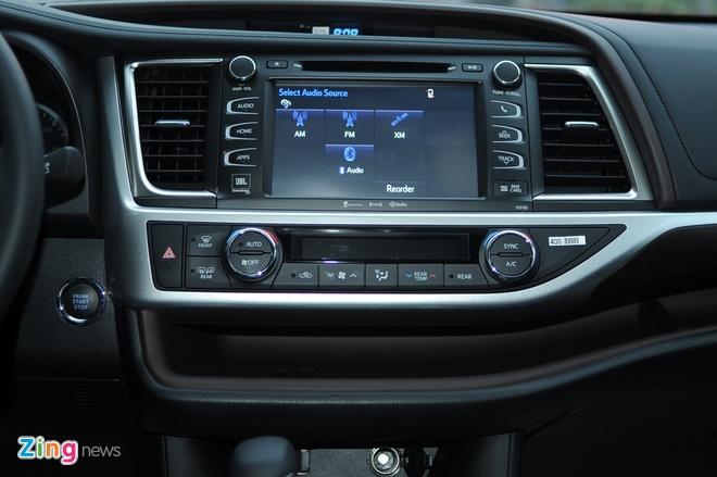 Chi tiet Toyota Highlander 2016 Limited tai Ha Noi hinh anh 10