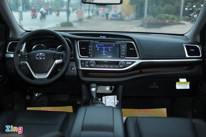 Chi tiet Toyota Highlander 2016 Limited tai Ha Noi hinh anh 8