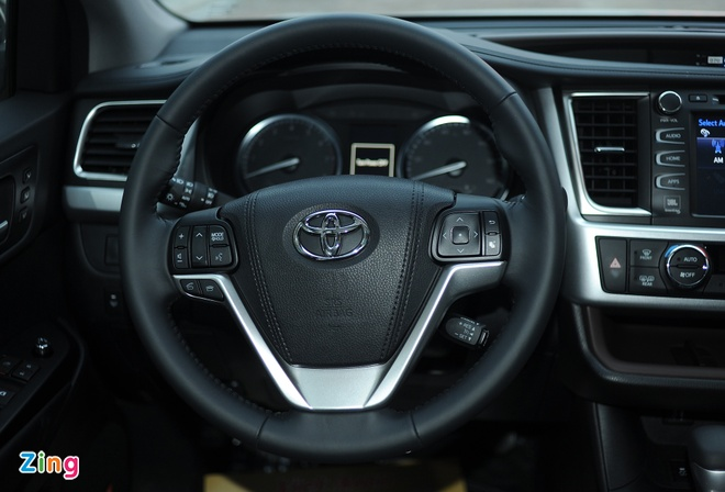 Chi tiet Toyota Highlander 2016 Limited tai Ha Noi hinh anh 9