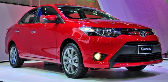 Toyota Viet Nam ban hon 1.400 xe Vios trong thang 1 hinh anh