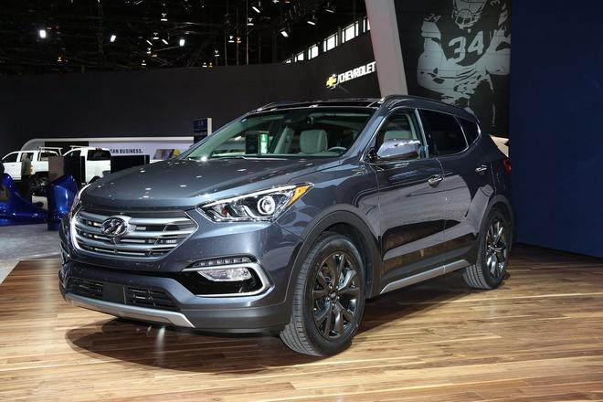 Hyundai Santa Fe 2017 ra mat tai My hinh anh