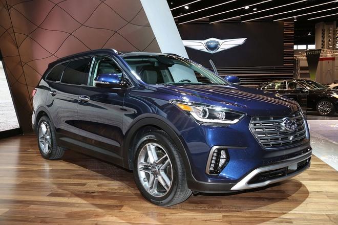 Hyundai Santa Fe 2017 ra mat tai My hinh anh 2
