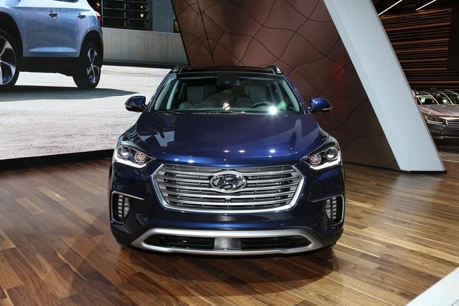 Hyundai Santa Fe 2017 ra mat tai My hinh anh 3