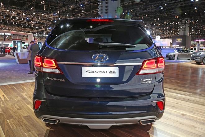 Hyundai Santa Fe 2017 ra mat tai My hinh anh 7