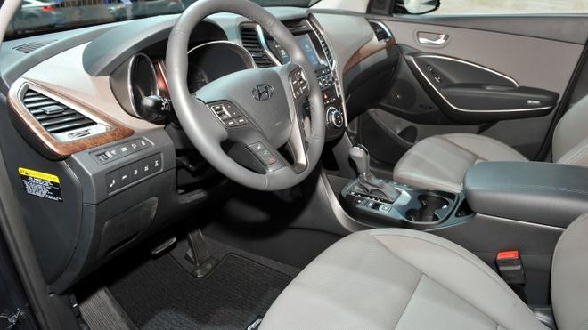 Hyundai Santa Fe 2017 ra mat tai My hinh anh 4