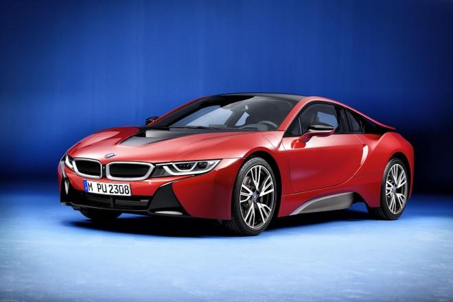 BMW gioi thieu i8 phien ban dac biet hinh anh 1