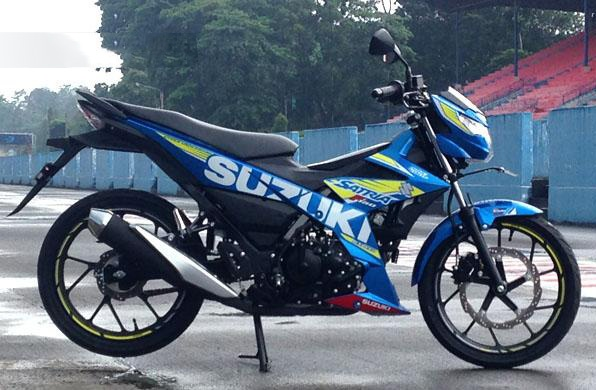 Suzuki Satria F150 moi chinh thuc trinh lang hinh anh 2