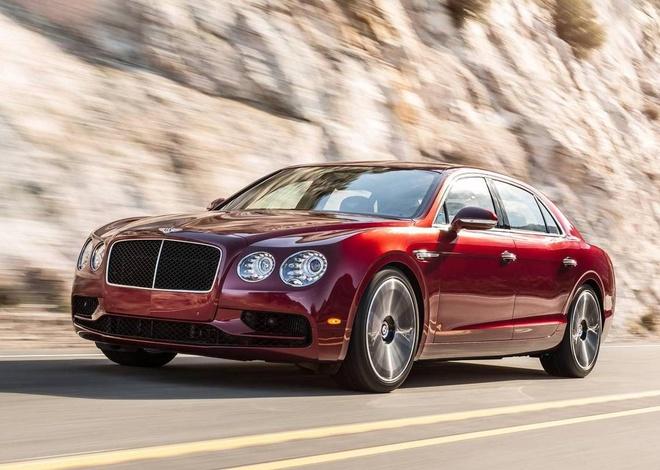 Bentley trinh lang Flying Spur V8 S hinh anh