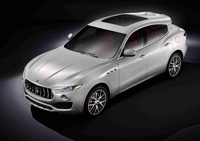 Maserati ra mat xe the thao da dung Levante 2017 hinh anh 2