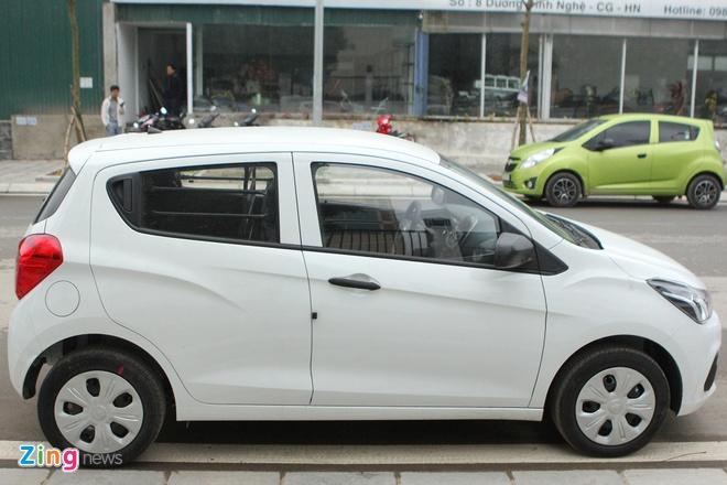 Chevrolet Spark Van 2016 dau tien ve Ha Noi hinh anh 1