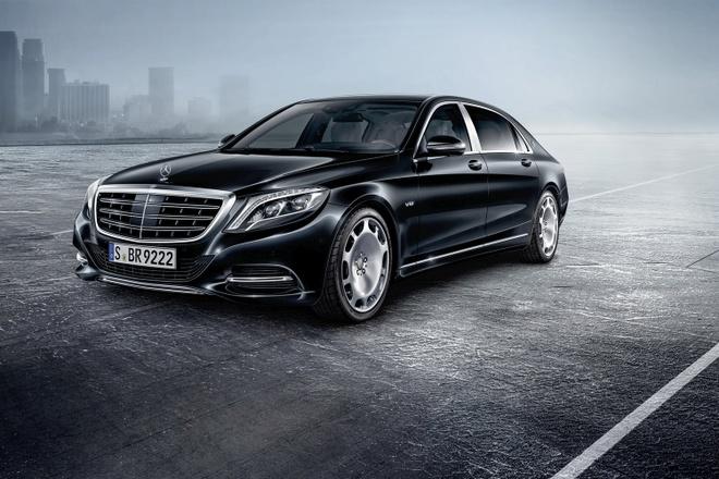 Xe chong dan Mercedes-Maybach S600 Guard gia nua trieu USD hinh anh