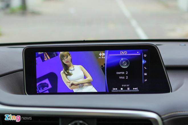 Lexus RX450h 2016 dau tien ve Ha Noi hinh anh 9