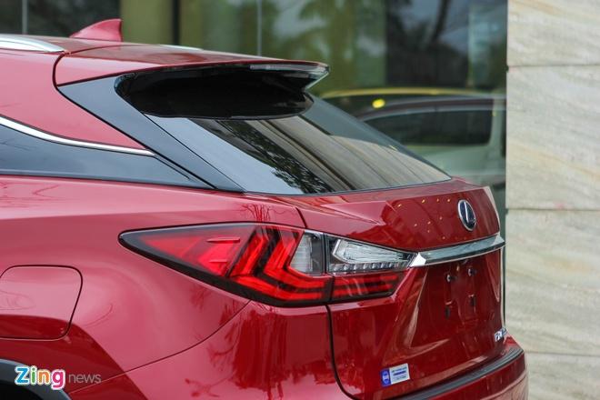 Lexus RX450h 2016 dau tien ve Ha Noi hinh anh 6