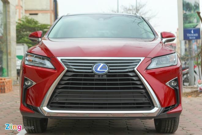 Lexus RX450h 2016 dau tien ve Ha Noi hinh anh 2