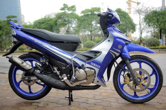 Anh xe con tay 2 thi Yamaha 125ZR tai Ha Noi hinh anh