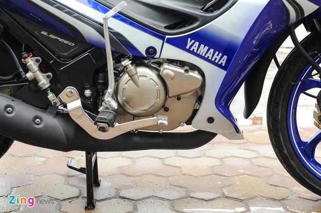 Anh xe con tay 2 thi Yamaha 125ZR tai Ha Noi hinh anh 10