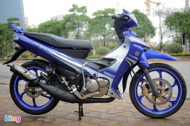 Anh xe con tay 2 thi Yamaha 125ZR tai Ha Noi hinh anh 2