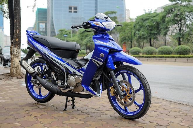 Xe may 2 thi Yamaha 125ZR ve Ha Noi hinh anh