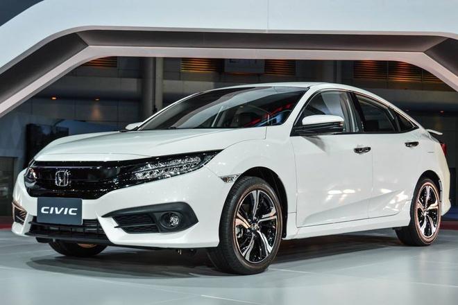 Honda Civic 2016 ra mat tai Thai Lan hinh anh