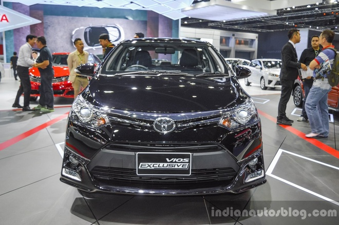 Toyota trinh lang Vios Exclusive 2016 hinh anh 1