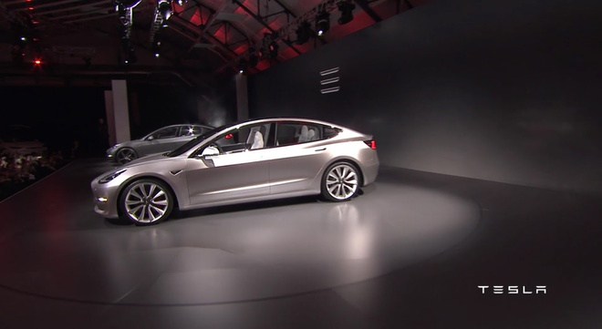 Tesla trinh lang oto dien Model 3 hinh anh 2