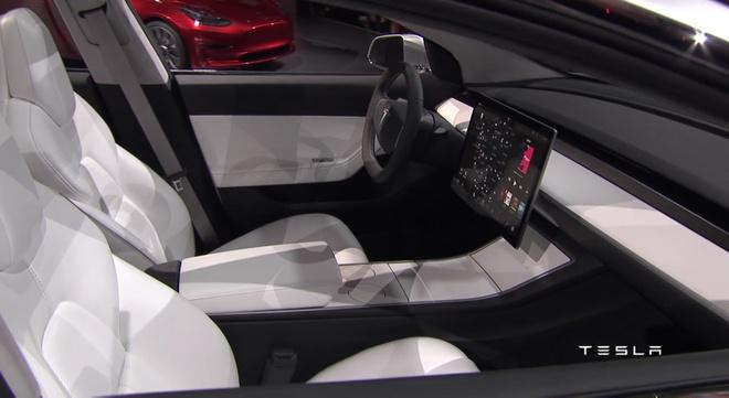 Tesla trinh lang oto dien Model 3 hinh anh 3