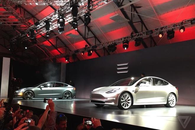Tesla trinh lang oto dien Model 3 hinh anh 5