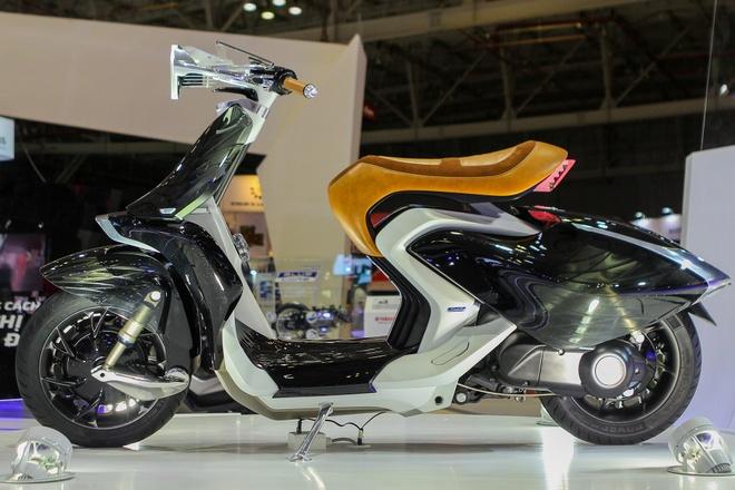 Yamaha 04Gen - xe concept lan dau xuat hien tai Viet Nam hinh anh