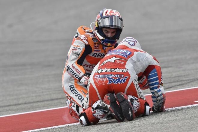 MotoGP chang 3: Nai cung nga ngua hinh anh