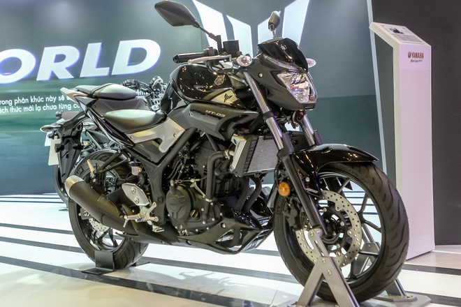 Chi tiet naked bike Yamaha MT-03 tai Viet Nam hinh anh