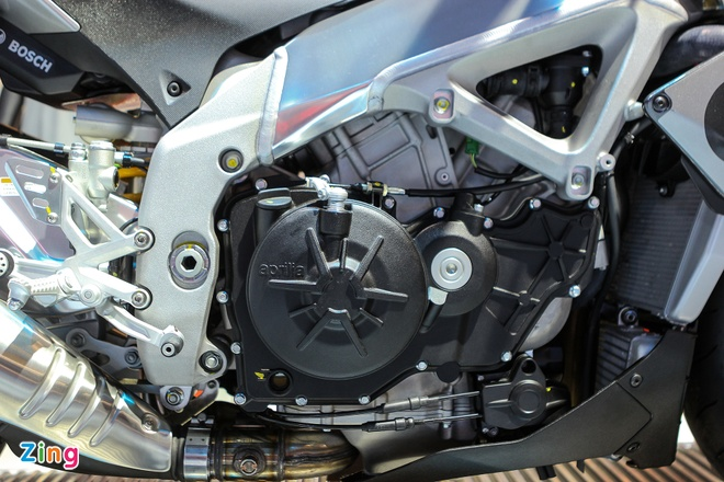 Aprilia Tuono 2016 - doi thu cua Kawasaki Z1000 tai Viet Nam hinh anh 10