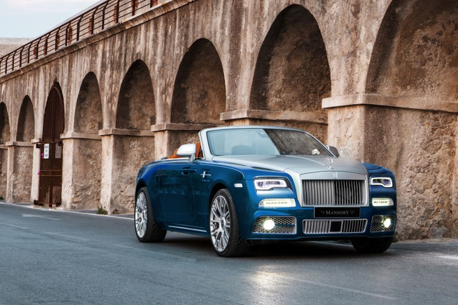 Rolls-Royce Dawn do Mansory co cong suat 740 ma luc hinh anh