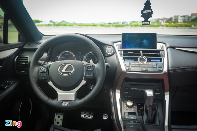 Lexus NX 200t F Sport tai Ha Noi hinh anh 8