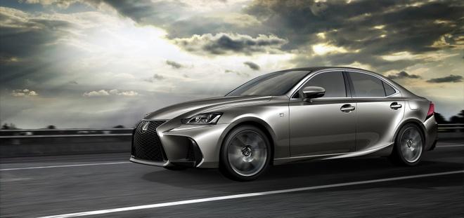 Lexus IS 2017 chinh thuc trinh lang hinh anh