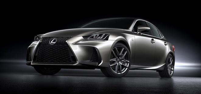 Lexus IS 2017 chinh thuc trinh lang hinh anh 2