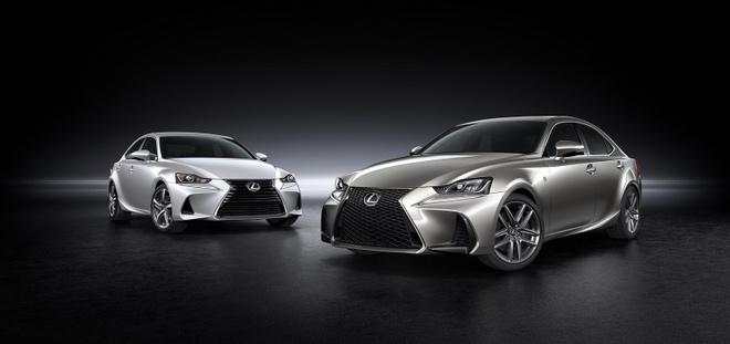 Lexus IS 2017 chinh thuc trinh lang hinh anh 5