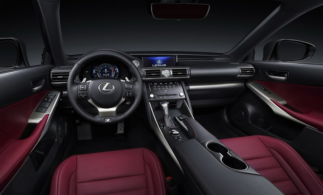 Lexus IS 2017 chinh thuc trinh lang hinh anh 4