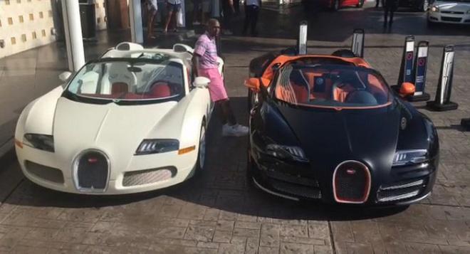 Tay dam Mayweather chi 6,5 trieu USD mua 2 sieu xe Veyron hinh anh