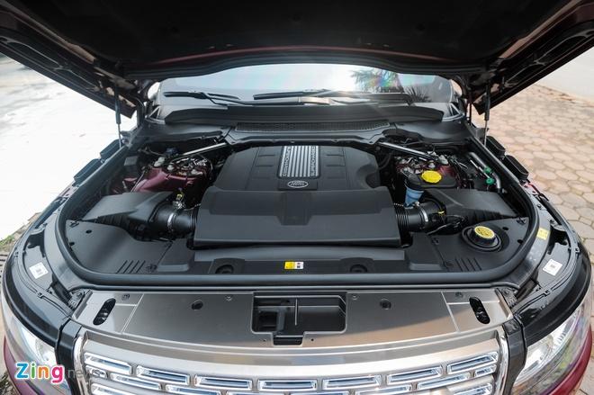 Range Rover LWB Black Edition mau hiem tai Ha Noi hinh anh 12