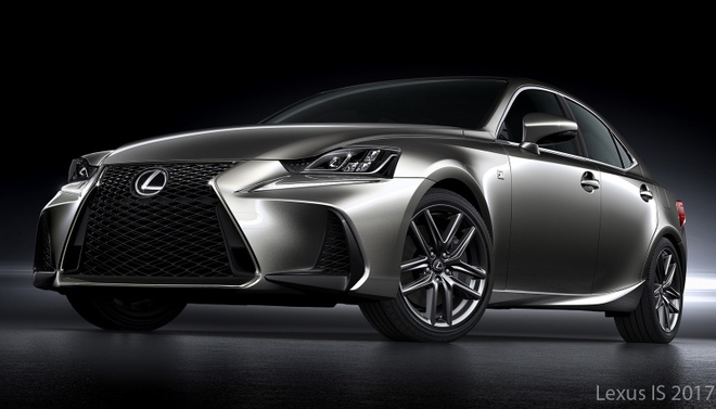 Lexus IS 2017 anh 3