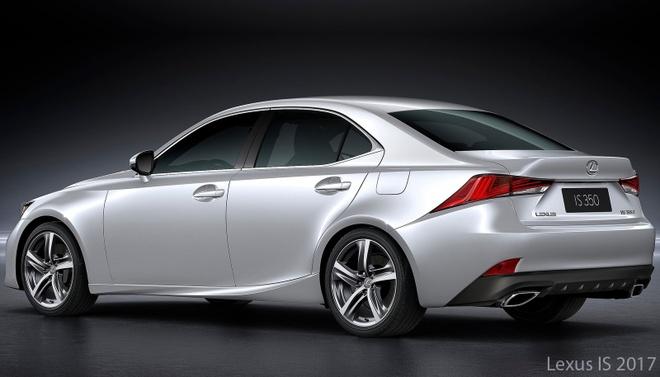 So sanh Lexus IS 2017 va phien ban cu hinh anh 5