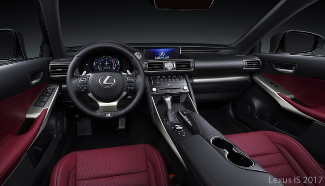 Lexus IS 2017 anh 7