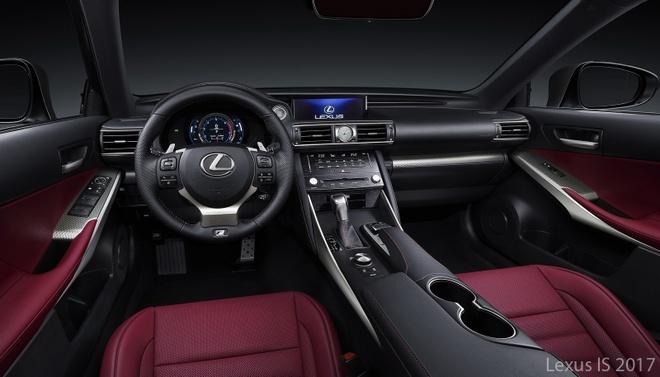 So sanh Lexus IS 2017 va phien ban cu hinh anh 7