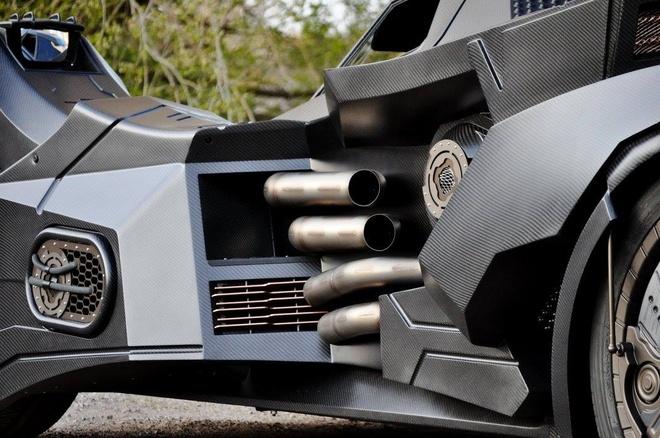 Chi tiet Batmobile do dong co Lamborghini 560 ma luc hinh anh 6