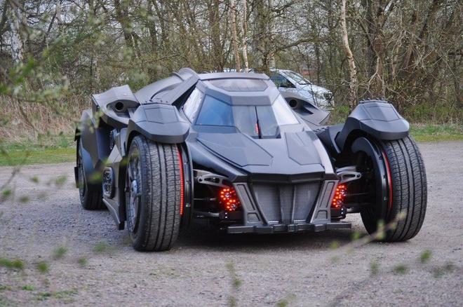 Chi tiet Batmobile do dong co Lamborghini 560 ma luc hinh anh 4