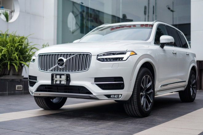 SUV hang sang Volvo XC90 T6 Inscription dau tien ve Ha Noi hinh anh
