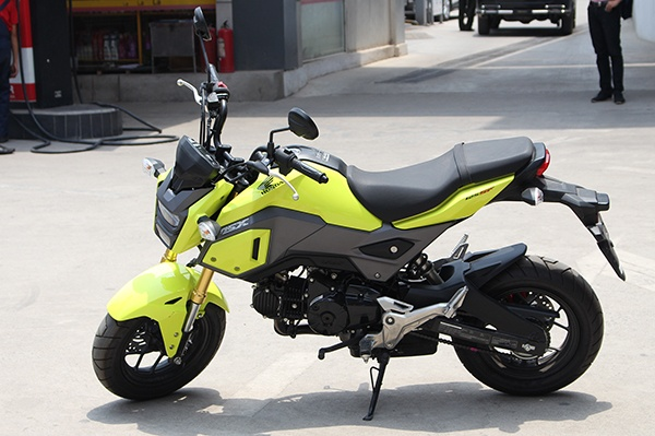Honda MSX 2016 dau tien ve Ha Noi hinh anh
