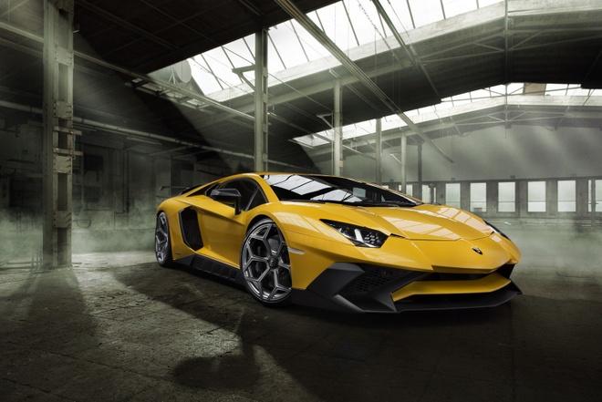 Sieu pham Lamborghini Aventador SV do cong suat 786 ma luc hinh anh