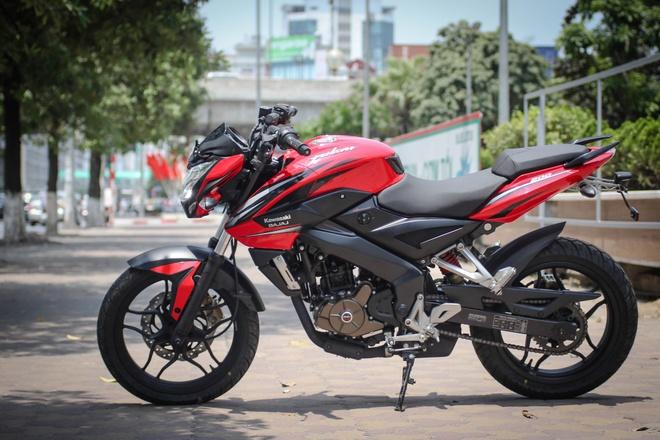 Moto 200 phan khoi gia re gan mac Kawasaki tai Ha Noi hinh anh